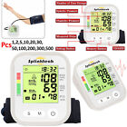 Digital Automatic Upper Arm Blood Pressure Monitor Meter Intellisense 180 Memory