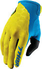 Thor 2017 S7 Draft Gloves (Pair) Yellow/Blue Mens All Sizes