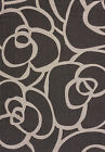 "Gray Floral Swirls Area Rug United Weavers 101-40371 - Aprx 7' 10"" x 10' 6"""