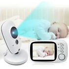 "3.2"" Audio Video Baby Monitor Wireless Digital Camera Night Vision Safety Viewer"