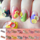 1000x3D Nail Art Stick Rods Polymer Clay Stickers Tips Decoration Multi-colour E