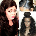 Real Brazilian Human Hair Wig Straight Curly Wavy 360 Lace Front Wigs Baby Hair