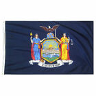New York State Flag, Quality Nylon, Brass Grommets, All Sizes, You Pick