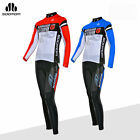 SOBIKE Cycling Suits Bike Riding Long Sleeve & Tights Pants Blue Red---Capricorn
