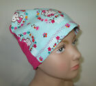 Kids Chemo Hat Turquoise Hello Kitt Cap Beanie Hat Alopecia Sleep Cap Cancer Hat