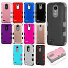 For LG Tribute Dynasty IMPACT TUFF HYBRID Protector Case Skin Phone Cover