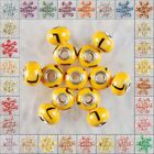 M041-070 14x10 Wholesale Polymer Clay 925 Silver Bead Finding