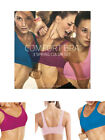 Pack Of 3 Seamless Bras Wire Free Stretch Soft Cup Comfort Flexi Crop Top