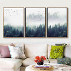 Abstract Style Forest&Bird Landscape Wall Art Canvas Poster Prints Home Decor