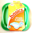 Vital Baby Basics Simply 3 Plates Stage 4   12 Mths +  New