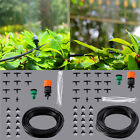 Micro Drip Irrigation System Plant Self Watering Garden Hose Kit Sprinkler