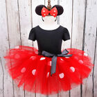 baby girl minnie mouse costume - Baby Kids Girls Minnie Mouse Costume Birthday Party Dress Headband Fancy Outfits