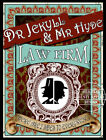 """DR JEKYLL AND MR HYDE """"LAW FIRM"""": VICTORIAN METAL SIGN :3 TO CHOOSE FROM"""