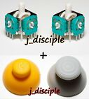 GameCube Analog Joystick Direct Replacement and caps pair 2x 2pcs US seller