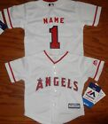 Los Angeles Angels Cool Base MLB Majestic Infant Replica Jersey add name  number on Ebay