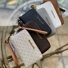 Michael Kors PVC or Leather Multifunction Phone Wallet Wristlet MK Choose Color