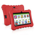7  8GB Android4.4 Quad Core 3G 2*Cam WIFI Tablet PC TF 64GB For Kid+Bundle Case