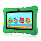 "7"" 8GB Android4.4 Quad Core 3G 2*Cam WIFI Tablet PC TF 64GB For Kid+Bundle Case"