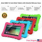 """7"""" 8GB Android4.4 Quad Core 3G 2*Cam WIFI Tablet PC TF 64GB For Kid+Bundle Case"""