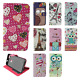 For ZTE Blade X Premium Leather Wallet Case Pouch Flip Phone Cover Accessory