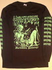 GOREAPHOBIA Long Sleeve T shirt Death metal Seraphic Decay cover Dismember S -XL