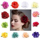 Womans Bridal Peony Rose Flower Hair Clip Hairpin Brooch Wedding Accessories
