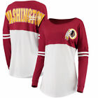 Washington Redskins 5th & Ocean by New Era Women's Team Logo Athletic Varsity