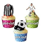 PRECUT Personalised Football Party Pack Cake Toppers Decoration Grimsby Colours