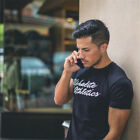 Summer Mens Fashion Casual t Shirt Fitness Bodybuilding Muscle male Short Sleeve