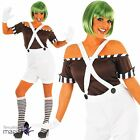 Adults Teacher Book Day Factory Worker Owner Oompa Loompa Fancy Dress Outfit Wig