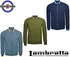 Lambretta Monkey Harringtons Jackets Bomber Triple Tipped Collar Coat UK S-4XL