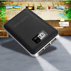 50000mah LCD Power Bank 3USB Dual LED Backup Battery Charger For Plastic Phone US