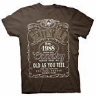 Gettin' Old Pissy And Cranky - Est. 1988 - 30th Birthday Gift T-shirt - 002-