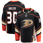 Ryan Miller Anaheim Ducks Fanatics Branded Breakaway Player Jersey Black