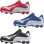 Mizuno Youth 9 Spike Advanced Franchise Cleats 320507 Black Red Royal  Kids!
