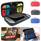 For Nintendo Switch Carrying Case Carbon Fiber Hard Shell Pouch Travel Bag