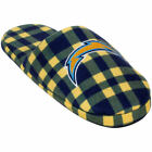 Los Angeles Chargers Flannel Slide Slippers $20.99 USD on eBay
