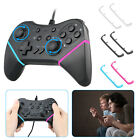 USB Wired Gamepad Controller Joypad Joystick Black for Nintendo Switch AC977