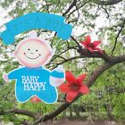 Baby Shower Party Decoration for Boy/Girl Hanging Foam Centerpiece Decoration