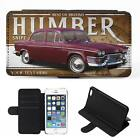 Personalised Humber Snipe iPhone Flip Case Classic Car Phone Cover CL20