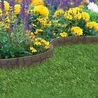 Garden Lawn Edging Flexible Border Shape Wall Path Eco Recycled Rubber 'EZ' NEW