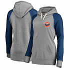 Houston Astros Women's Timeless Lounge Fashion Pullover Hoodie - Gray