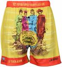 Men's Boxer Shorts Radio Days Silk Blend Sublimated Abbey Road Love Sgt Peppers