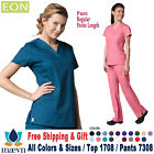 Maevn Scrubs Set EON Women's V-Neck Top  Cargo Pants 1708/7308 Regular/Petite