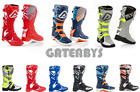 New Acerbis Motocross Enduro Boots 8 9 10 11 Orange Black Yellow MX KTM SX CRF