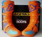 NEW ACERBIS X-TEAM KTM ORANGE MOTOCROSS ENDURO BOOTS 8 9 10 11 SXF EXCF XCF SX