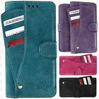 For LG Aristo 2 Premium Slide Out Pocket Wallet Case Pouch Cover Accessory