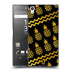 HEAD CASE DESIGNS PINEAPPLE PRINTS SOFT GEL CASE FOR SONY PHONES 2