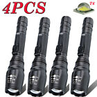 Tactical Zoomable 50000LM 5-Mode T6 LED 18650 Flashlight Ultrafire Torch Lamp U|