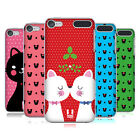 HEAD CASE DESIGNS CHRISTMAS CATS HARD BACK CASE FOR APPLE iPOD TOUCH MP3